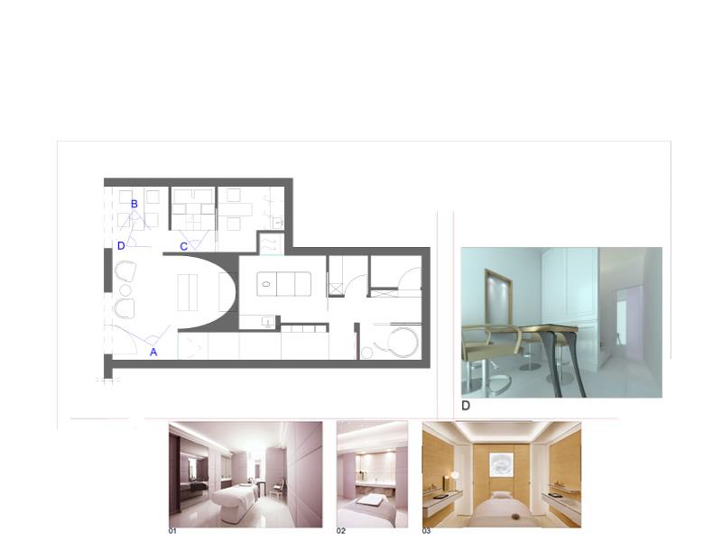 Progettazione ed arredamento centro benessere studi di for Arredamento estetica usato